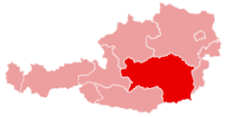 Location of Styria